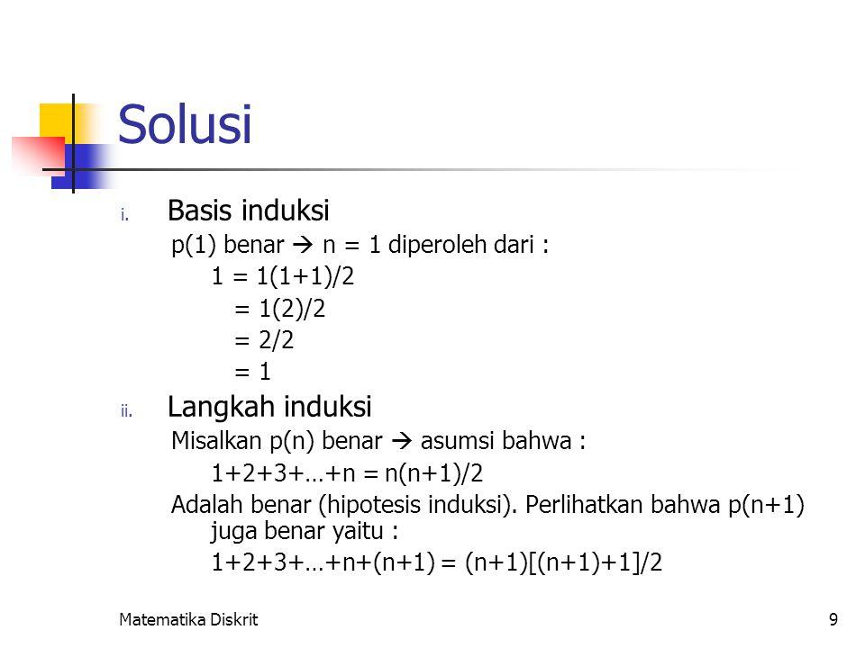 1+2+3+…+n+(n+1) = (1+2+3+…+n)+(n+1) = [n(n+1)/2]+(n+1)